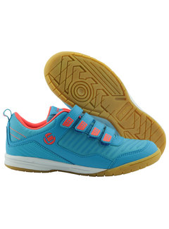 Brabo Indoor Hockey shoes velcro Light blue