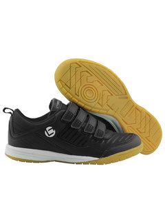 Brabo Zaalhockeyschoenen klittenband Zwart