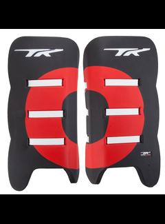 TK Total Three 3.2 Plus Legguards Zwart/Rood