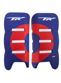 TK Total Three 3.2 Plus Legguards Blauw/Rood