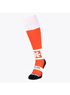 Osaka hockeysokken Flare Oranje Melange