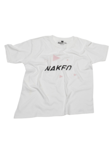 Naked Youth Tee White