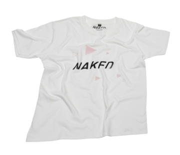 Naked Youth Tee Wit