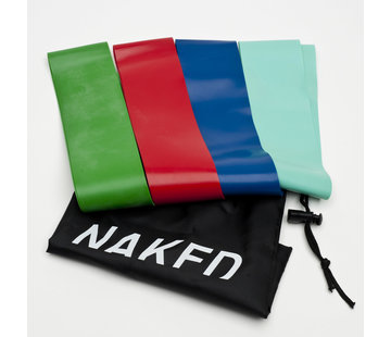 Naked Resistance Bands + Bag
