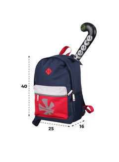 Reece Cowell Backpack Navy/Rood