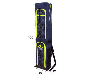 Reece Junior Stick Bag Navy/Yellow