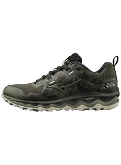 Mizuno Wave Mujin 6 Men Dark Green/Silver