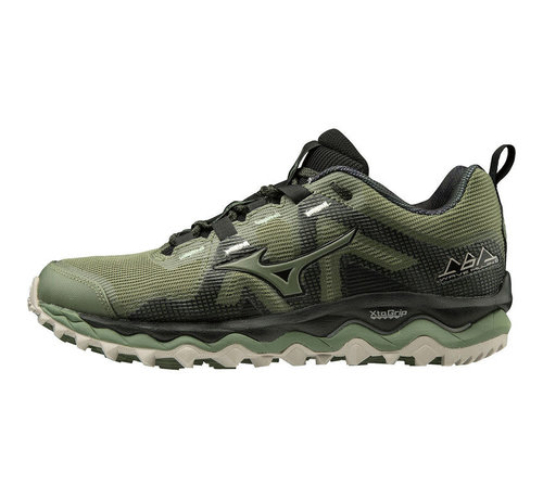 Mizuno Wave Mujin 6 Women Dark Green/Black