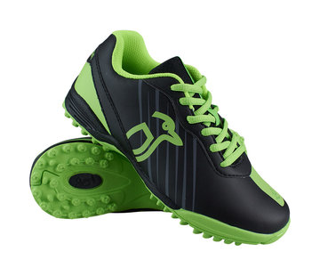 Kookaburra Hockeyschoenen Neon Zwart/Lime
