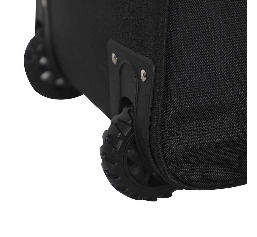 Total One 1.2 Stickbag Met Rollen Zwart