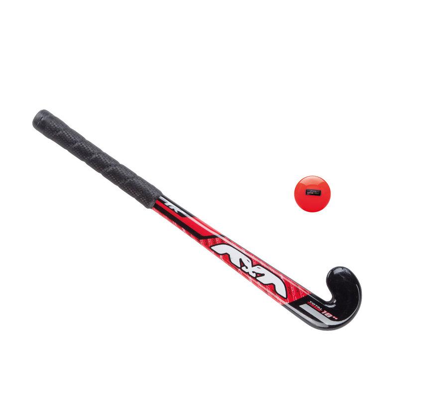 Babystick Rood met bal