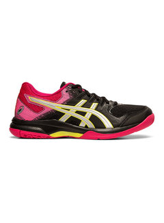 Asics Gel - Rocket 9 Indoor Women Black/Silver/Pink
