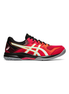 Asics Gel - Rocket 9 19/20 Indoor Herren Rot/Weiss