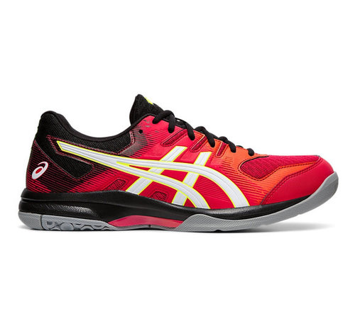 Asics Gel - Rocket 9 19/20 Indoor Men Red/White