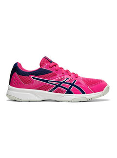Asics Upcourt 3 Indoor Dames Roze/Blauw