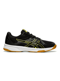 Asics Upcourt 3 Indoor Heren Zwart/Neon Geel
