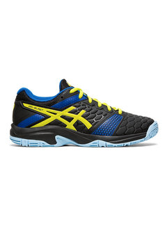 Asics Gel - Blast 7 GS 19/20 Indoor Kids Black/Neon Yellow/Blue