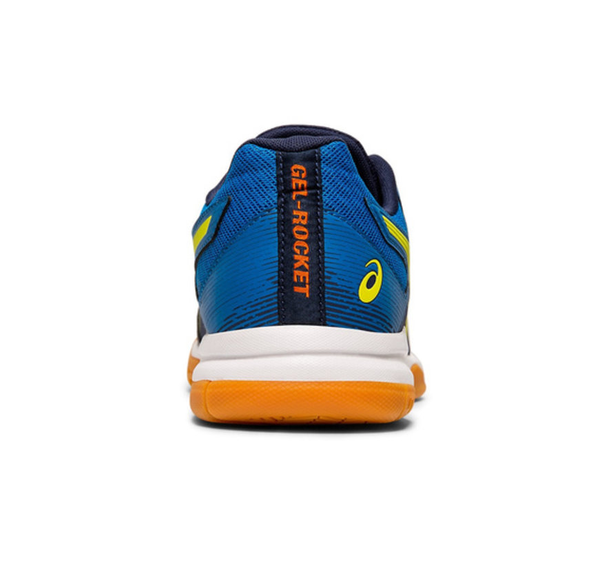 Gel - Rocket 9 19/20 Indoor Men Blue/Neon Yellow