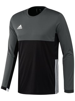 Adidas Adidas T16 Climacool L-S Tee Men Zwart/Grijs L