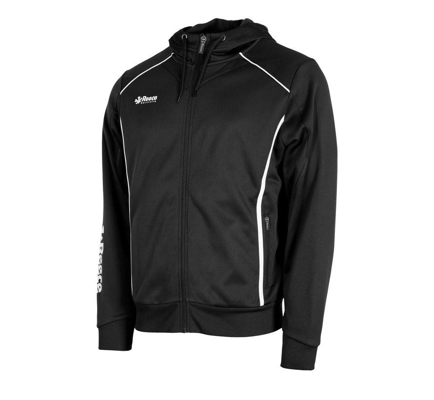 Core TTS Hooded Sweat Full Zip Unisex Schwarz