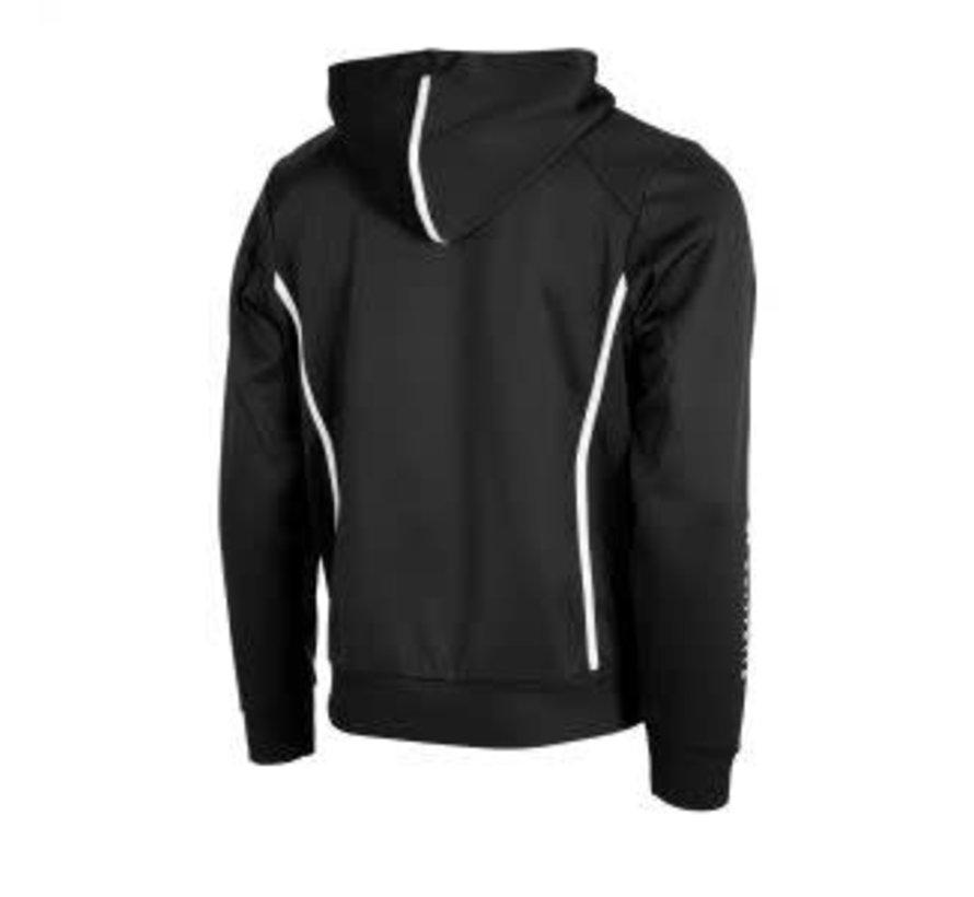 Core TTS Hooded Sweat Full Zip Unisex Black