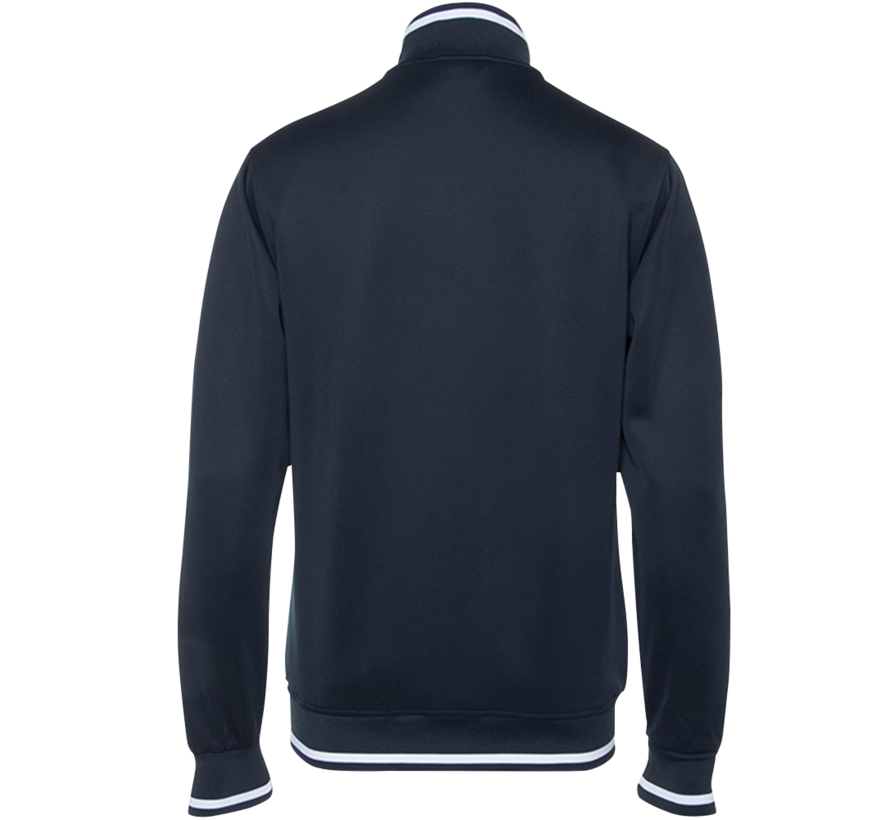 Mens Knitted Tech Jacket Navy