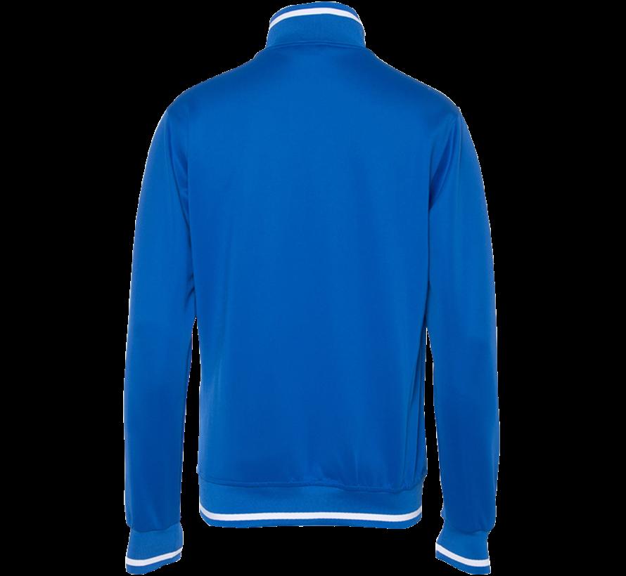 Men's knitted jacke Kobalt