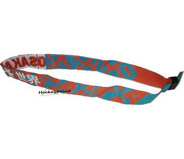 Osaka Bracelet Rot / Weiß / Sky