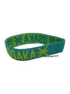 Osaka Bracelet Elastic Green / Blue