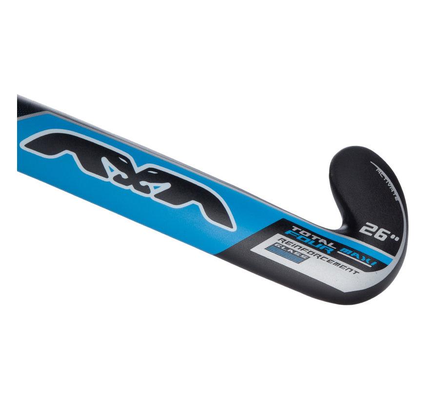 Maxi Junior zaalstick Blauw/Zwart