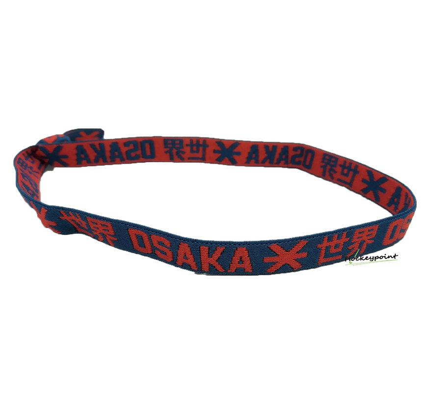 Elastic Hairband Red / Navy