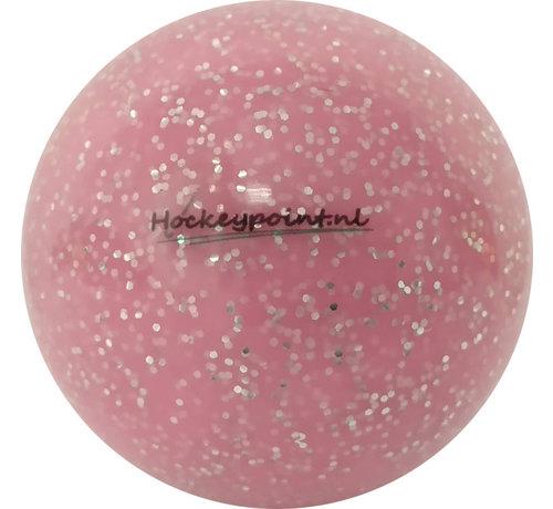Hockeypoint Hockey Ball Extra Glitter Powder Pink