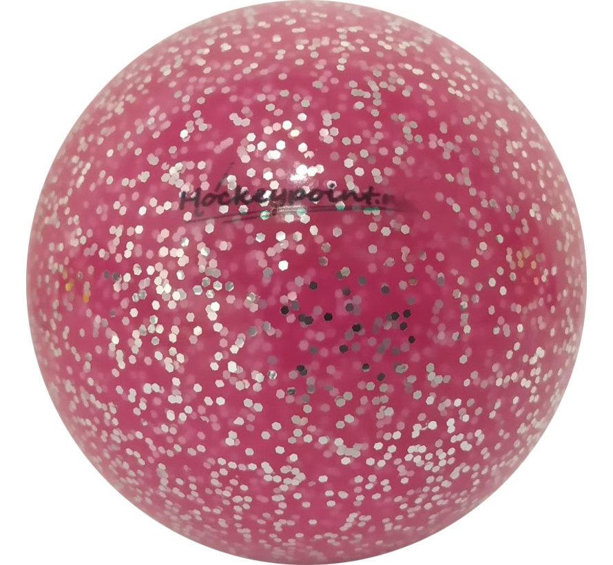 Hockey ball Extra Glitter Pink