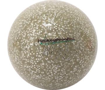 Hockeypoint Hockeyball Extra Glitter Silber