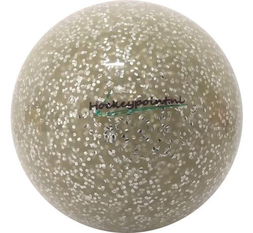Hockeypoint Hockeybal Extra Glitter Zilver