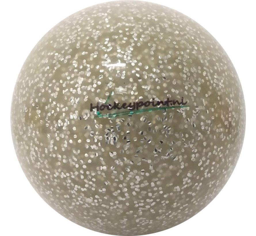 Hockeybal Extra Glitter Zilver