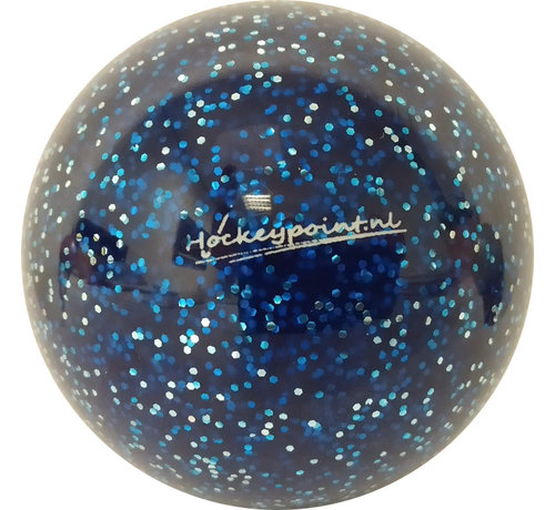 Hockeypoint Hockeybal Extra Glitter Donkerblauw