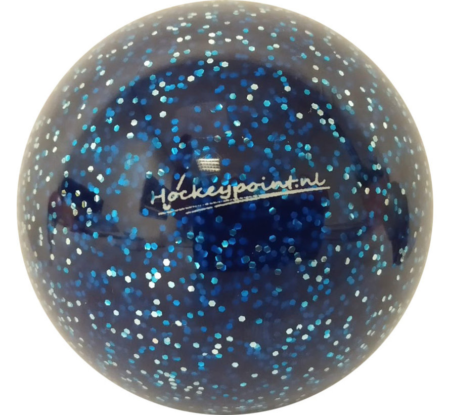 Hockeybal Extra Glitter Donkerblauw