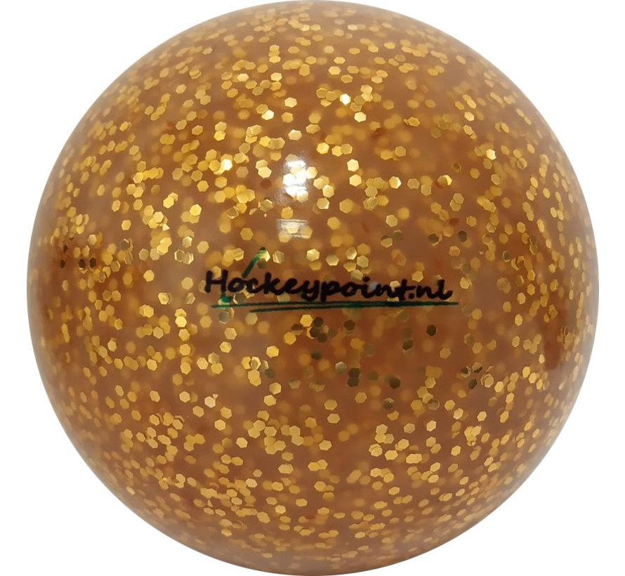 Hockeybal Extra Glitter Goud