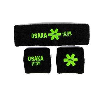 Osaka Sweatband Set 2.0 Zwart