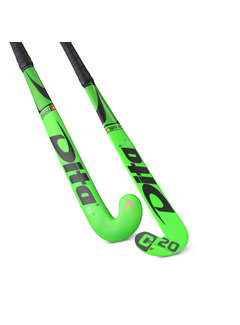 Dita Indoor MegaPro C20 J-Shape 19/20 Fluo Green/Black