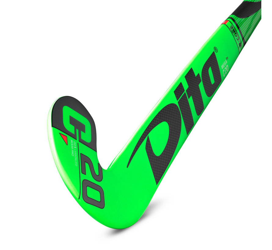 Indoor MegaPro C20 J-Shape 19/20 Fluo Green/Black