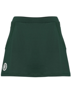 Indian Maharadja Women's tech skort Donkergroen