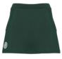 Women's tech skort Donkergroen