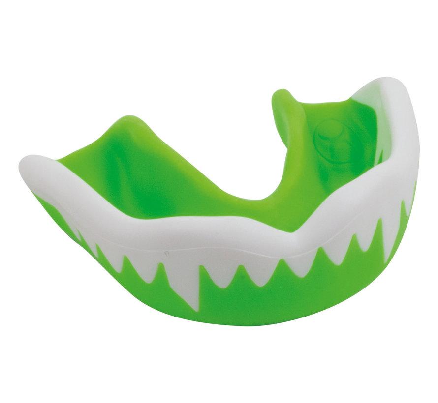 Zahnschutz Junior Viper Grün/Weiss