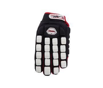 TK Total One 1.1 Indoor Handschoen Zwart/Rood/Wit