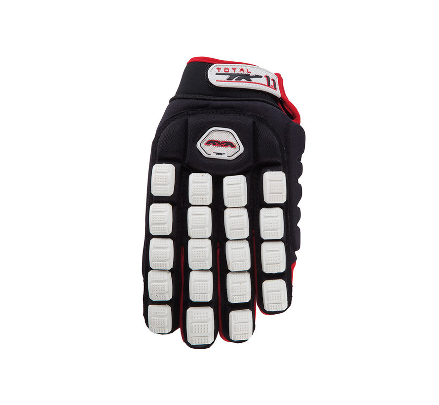 Total One 1.1 Indoor Glove Black/Red/White