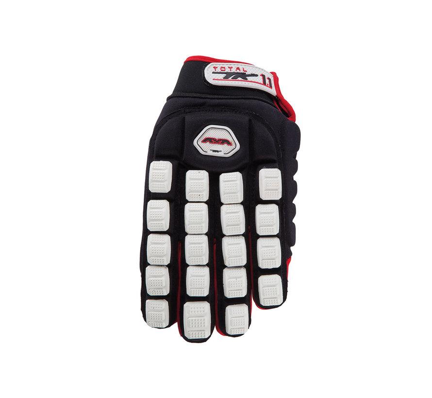 Total One 1.1 Indoor Handschoen Zwart/Rood/Wit