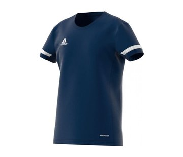 Adidas T19 Tee Jersey Youth Girls Navy