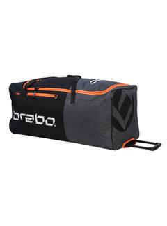 Brabo Goalie Bag Wheeled Std Black/Orange